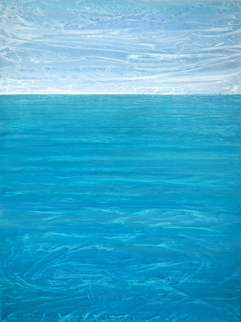 """""""Fantasie Impromptu"""" 48x36, acrylic on canvas"""