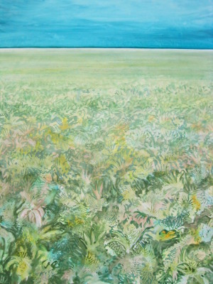 """""""Canopy"""" 40x30 acrylic on canvas"""