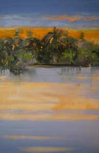 """Island Morning"" 36 x 24, acrylic on canvas"
