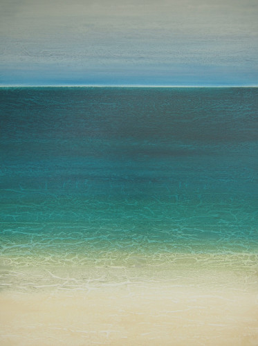 "SOLD ""On the Beach"" 48x36, acrylic on canvas"