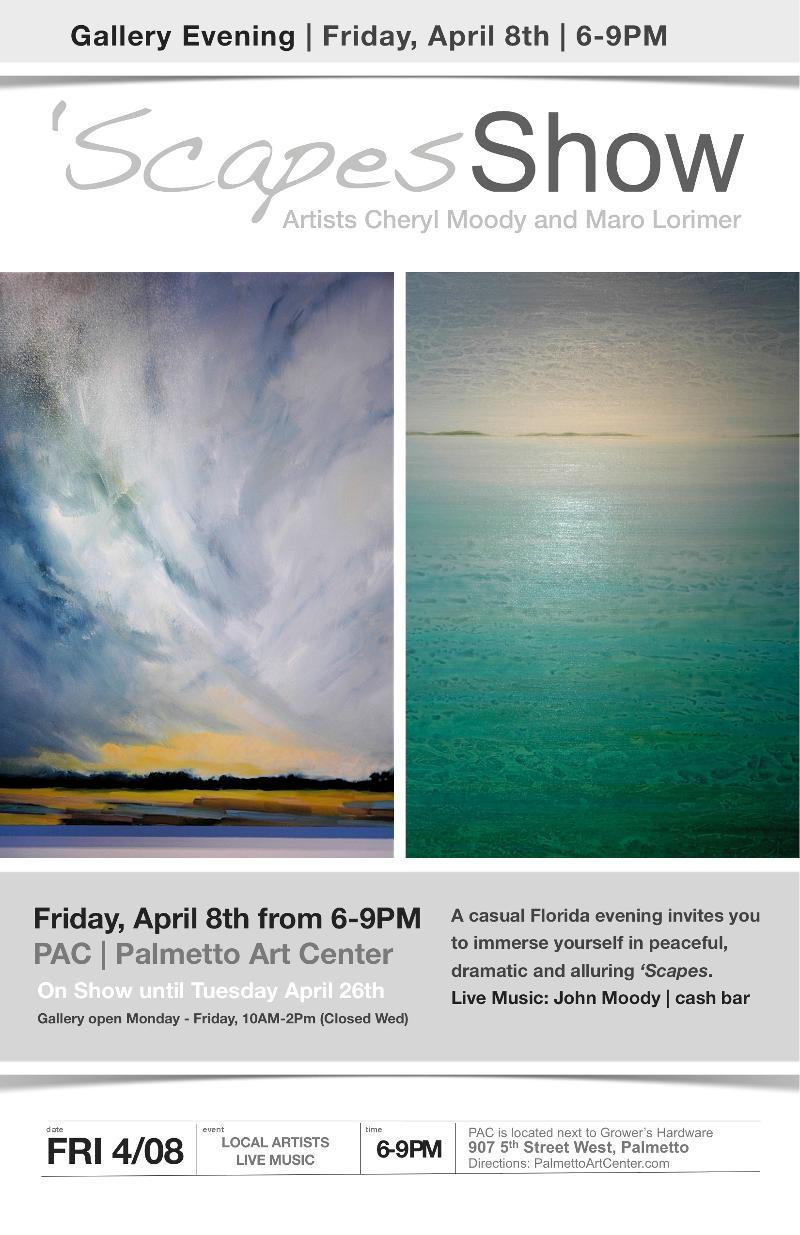 Palmetto Arts Center - Scapes exhibit
