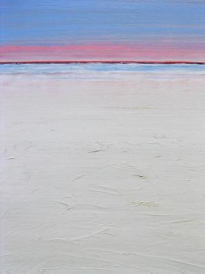 """Red Horizon"" 24x18, acrylic on canvas"