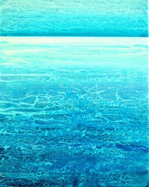 "SOLD ""Sandbar"" 20x16, acrylic on canvas"