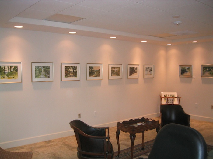 "The Studio at Gulf and Pine office gallery of ""Beach Paths"""