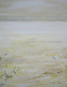 "SOLD ""Whitescape"" 20 x 16, acrylic on canvas"