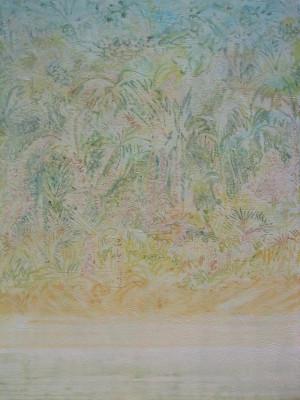 """Wild"" 40x30, acrylic on canvas"