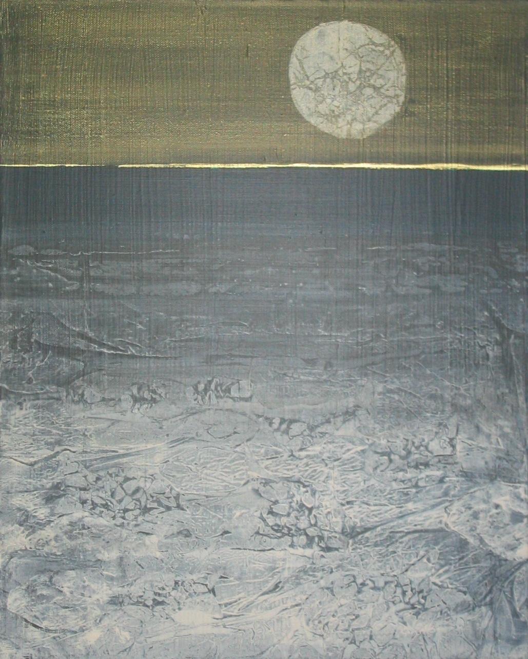"""""""Worlds Apart 2"""", 20x16, acrylic on canvas, ©2010Maro Lorimer"""