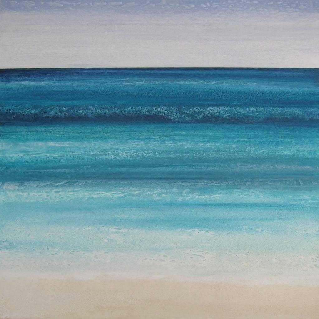 """Gulf Sensations 4"" 36x36 acrylic on canvas"
