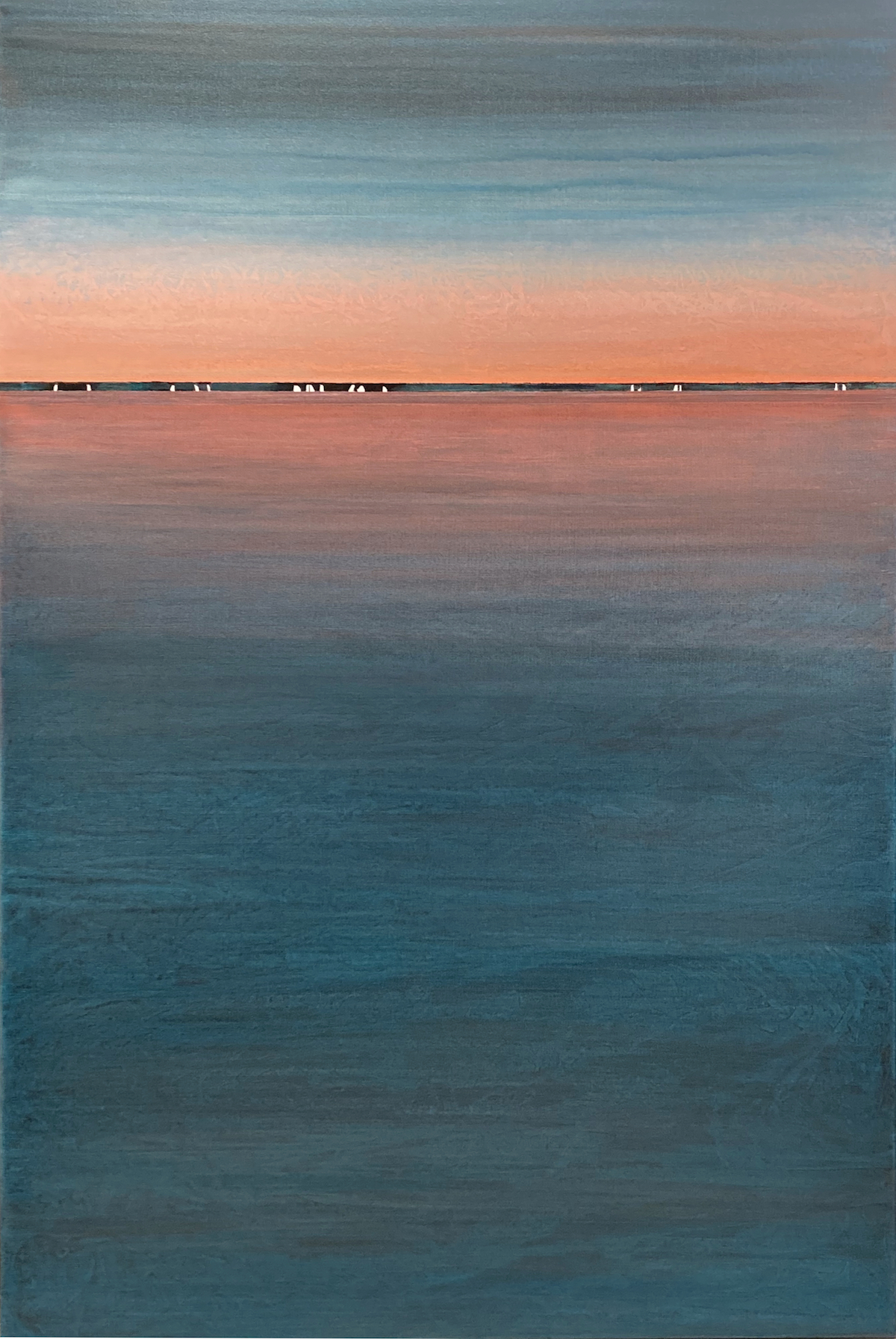 """A Distant Shore"" 60x40, acrylic on canvas"