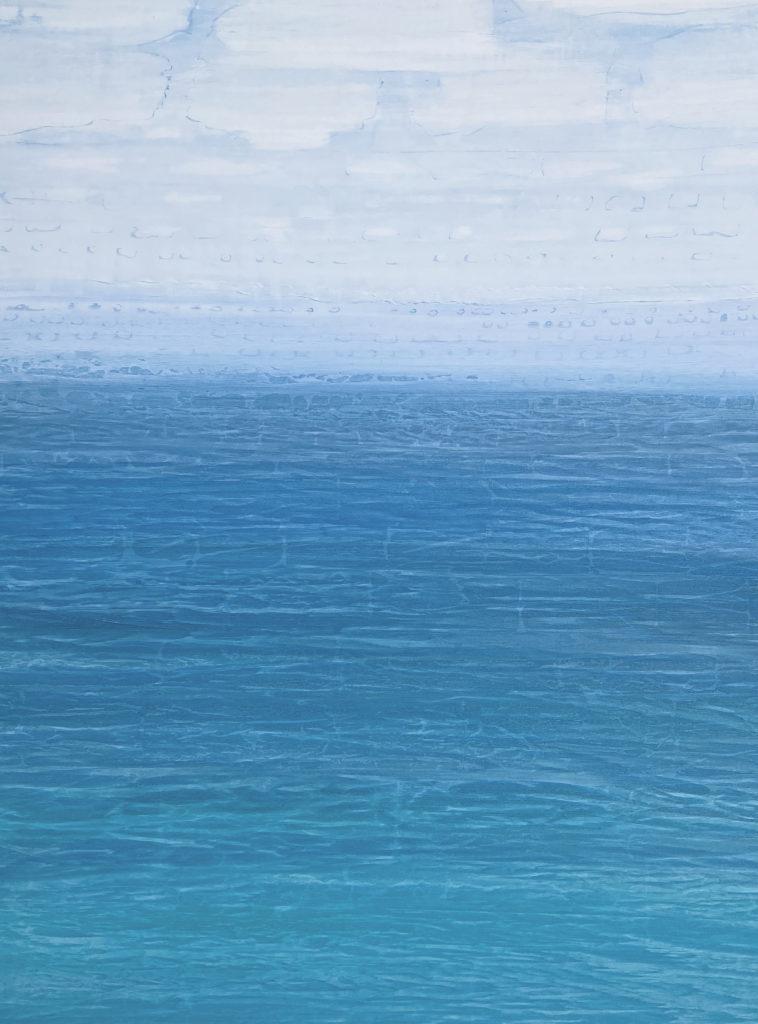 """""""Cloud 9"""" 48x36 acrylic on canvas"""