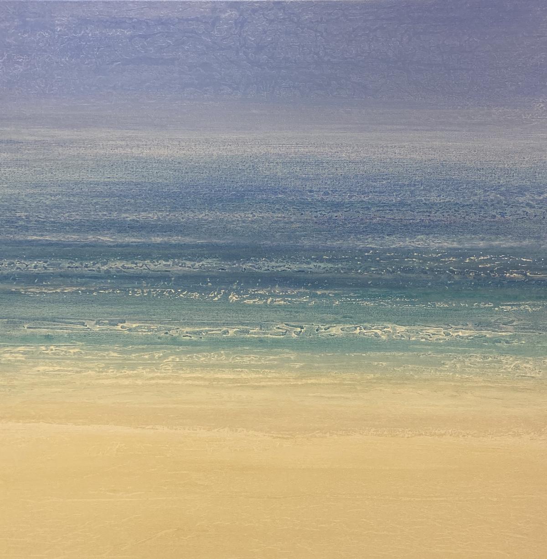 """""""Gulf Dreams"""" 36x36, acrylic on canvas"""