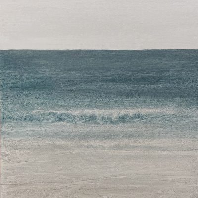 """""""Sea Song"""" 24x24, acrylic on canvas"""
