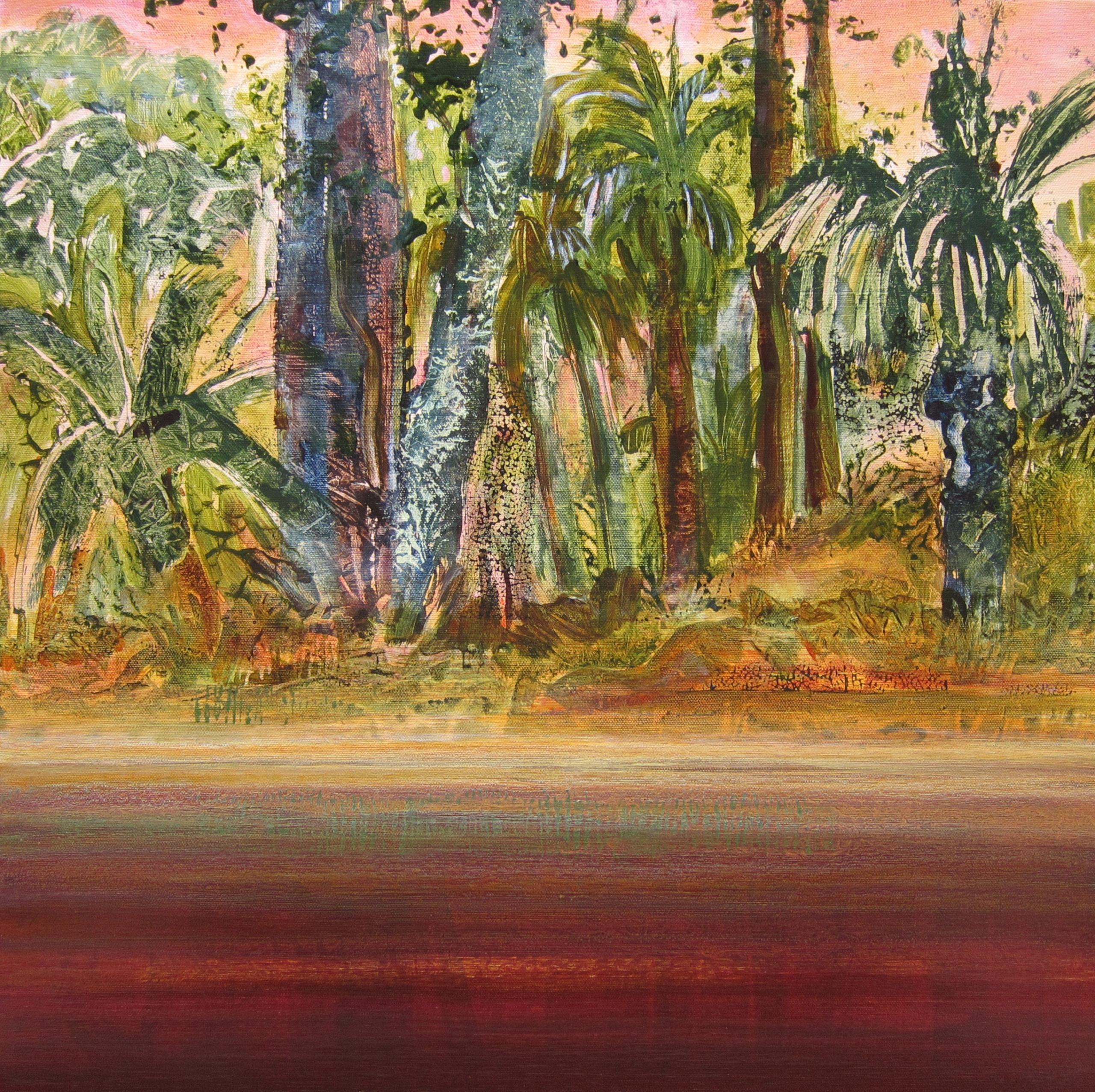 """Wild Coast 3"" 24x24 acrylic on canvas"