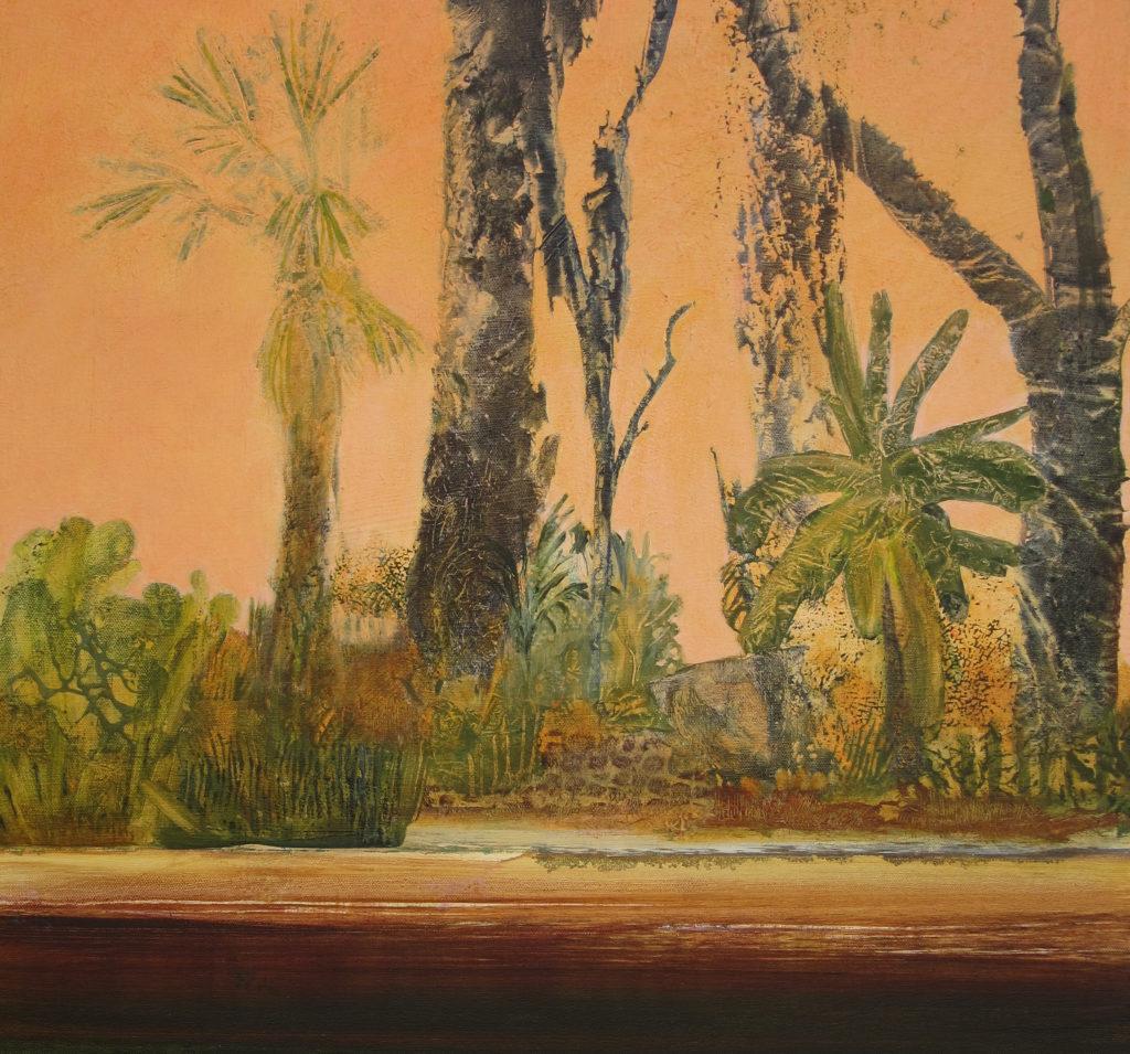 """Wild Coast 4---Vanishing Wilderness"" 24x24 acrylic on canvas"