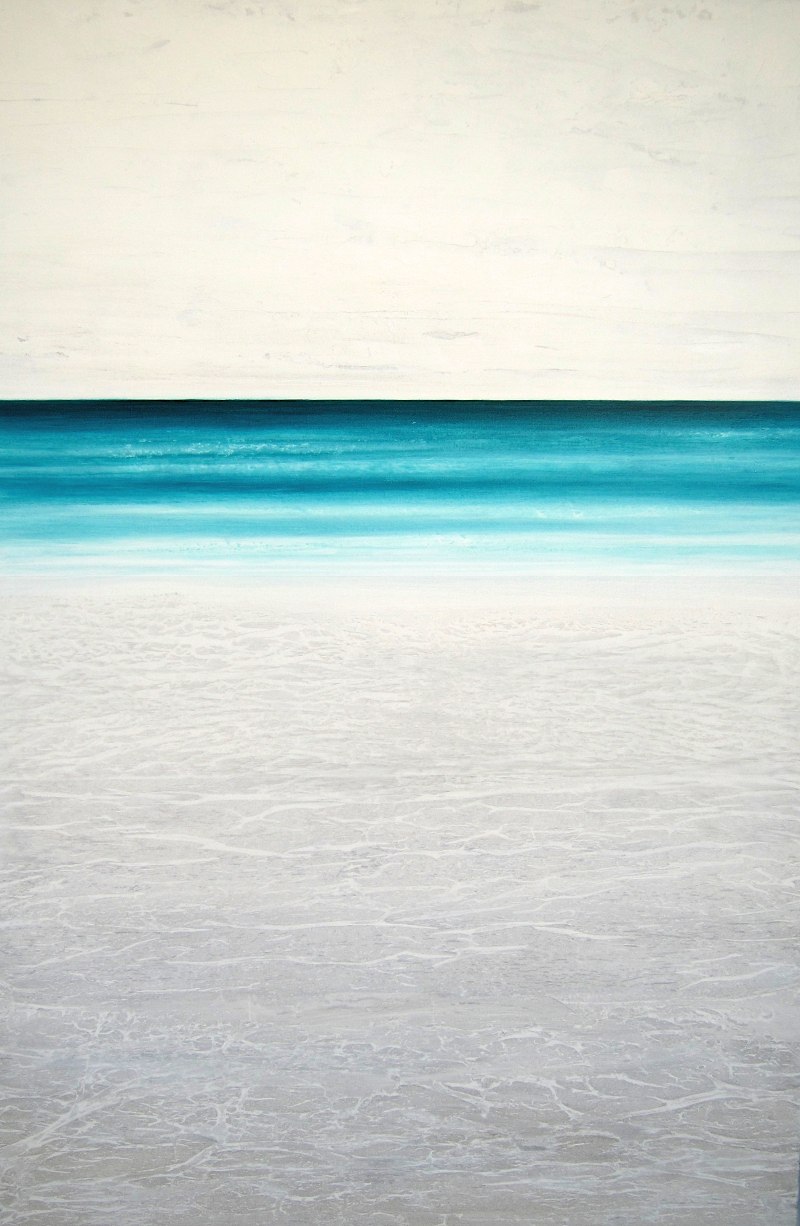 """High Beach"" 60x40 acrylic on canvas"