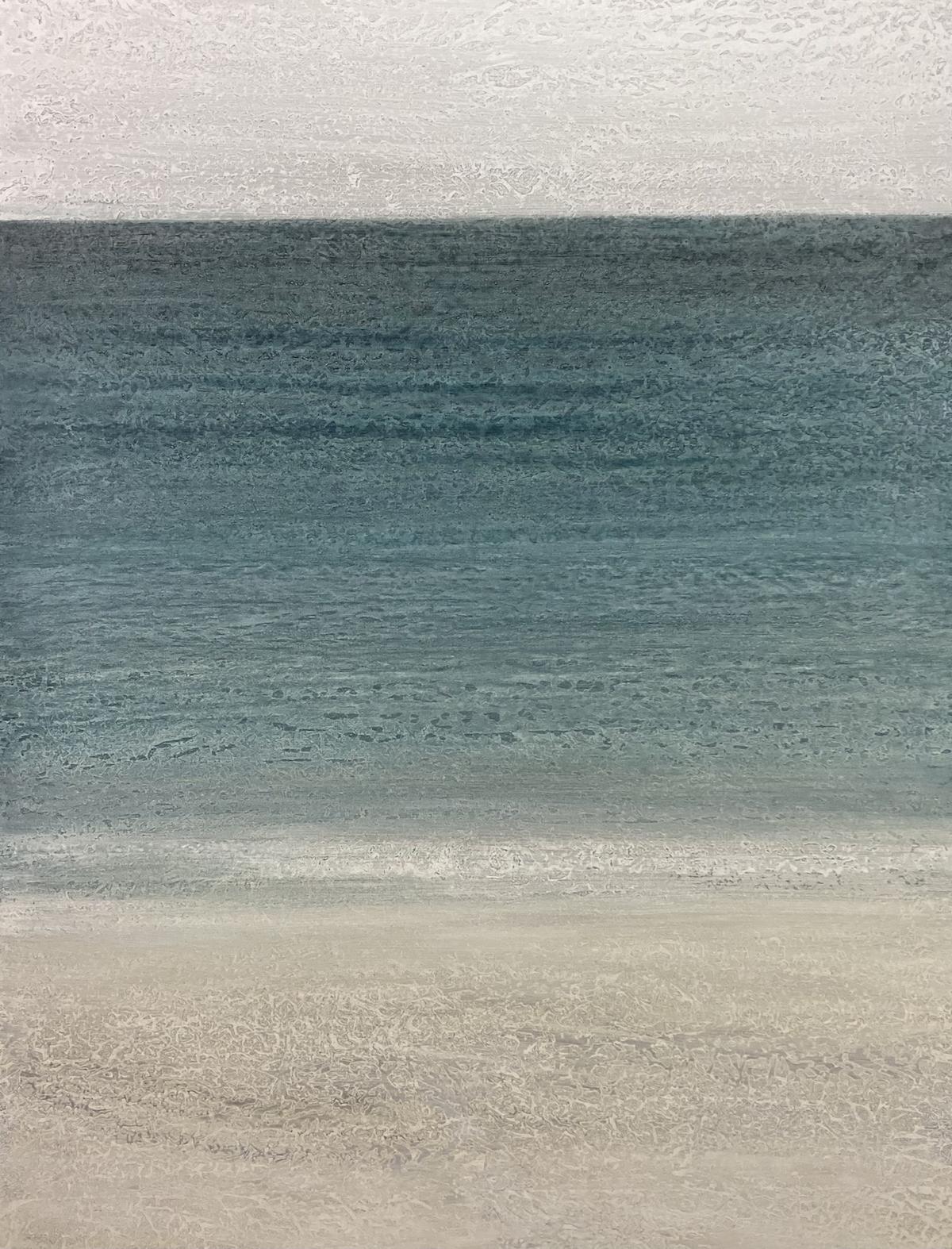 """Negative Ions"" 48x36, acrylic on canvas"